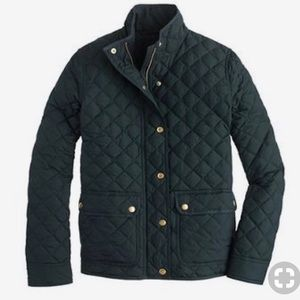 J Crew Quilted  Jacket, size S.